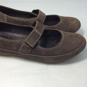 Timberland Brown Leather Mary Jane Loafer